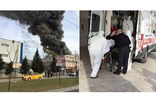 ВТурции произошел взрыв натекстильной фабрике