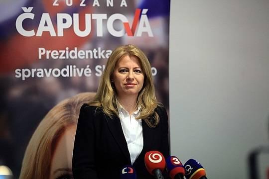 На выборах президента Словакии победила адвокат Зузана Чапутова
