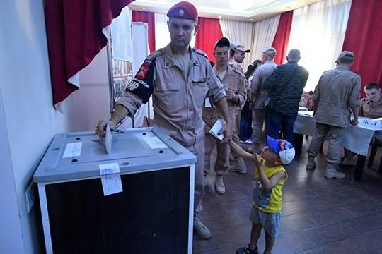 Навыборах Российского Президента зарубежом Путин набрал практически 85% голосов