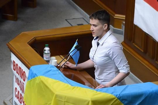 Надежда Савченко едет в ДНР агитировать за Украину