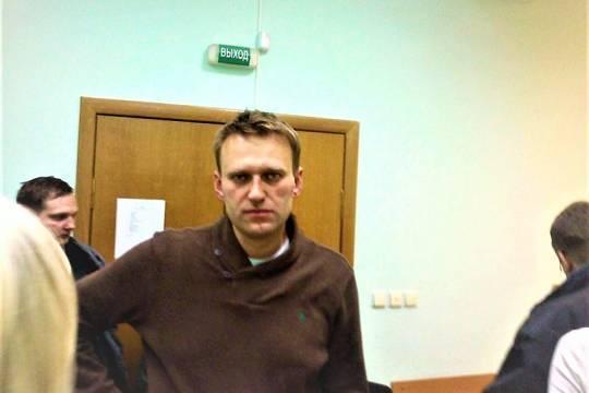 Навального вернули из медсанчасти колонии обратно в отряд