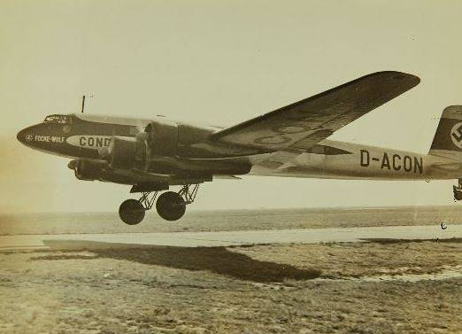 FW-200V1 бортовой номер «D-ACON»