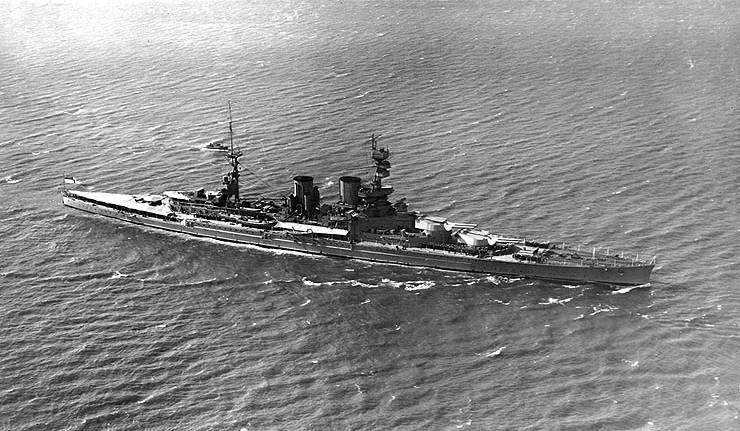 Немецкий подводник Гюнтер Прин прорвался в главную военно-морскую базу Великобритании и потопил линкор