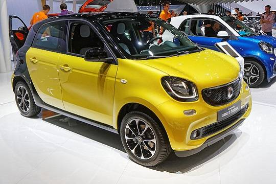 Smart Forfour - 2014