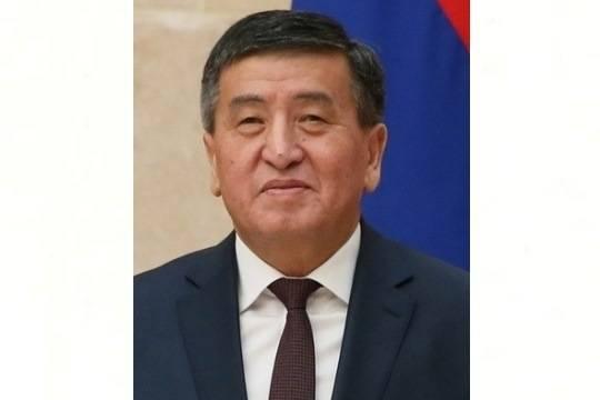 Новый президент Киргизии взял курс наукрепление партнерства сРФ
