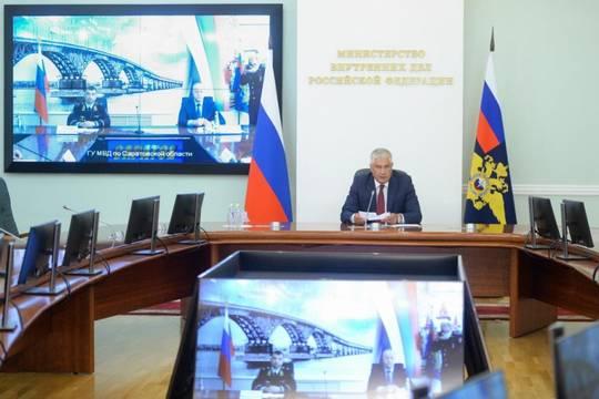 Новым руководителем ГУ МВД России по Саратовской области стал Николай Ситников