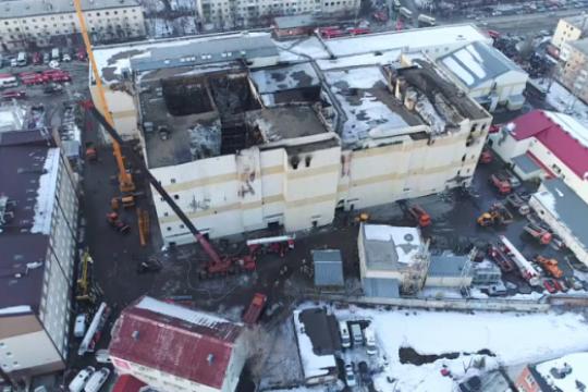 Охранник Зимней вишни рассказал в суде о пожаре
