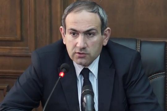 Парламент Армении не избрал Пашиняна на пост премьера страны