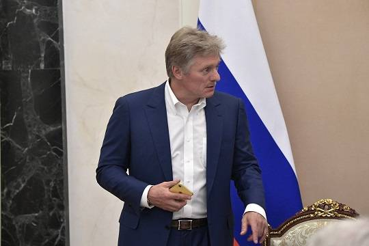 Песков прокомментировал слова Байдена о Путине