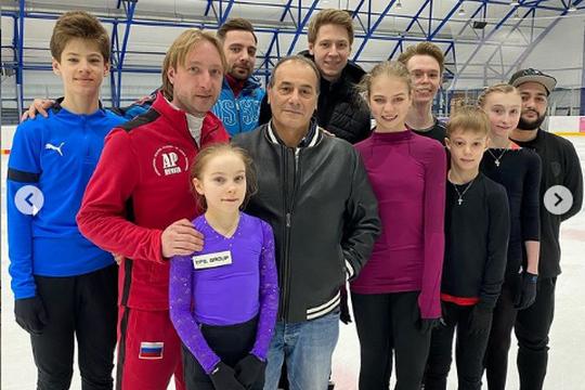 Плющенко объявил о сотрудничестве с тренером Нэйтана Чена Арутюняном