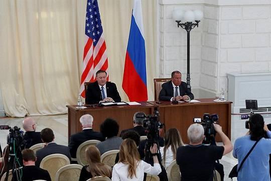 Помпео рассказал о желании США поработать на улучшением отношений с Россией