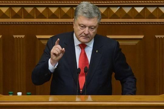 Порошенко призвал ввести санкции против украинских компаний за контракты с «Газпромом»