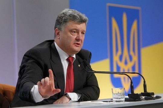 Порошенко похвалился престижем украинской армии