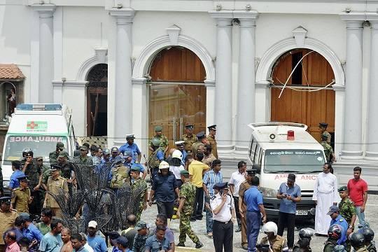 После терактов на Шри-Ланки две организации были объявлены запрещёнными