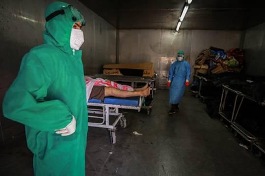 Пожар в больнице для коронавирусных пациентов в Багдаде унес жизни 82 человек