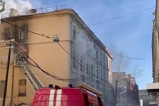 Пожар в консерватории имени Чайковского потушили