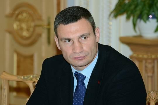 Правительство Украины решило не рассматривать вопрос об увольнении Кличко