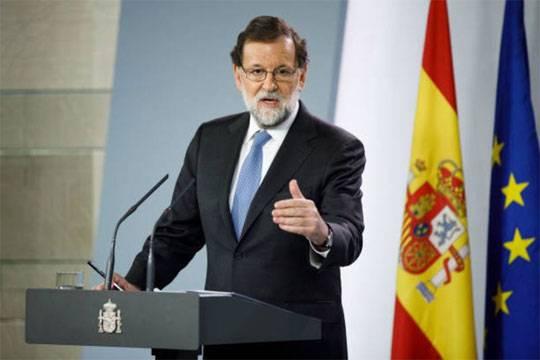 Премьер-министр Испании призвал каталонцев прийти надосрочные выборы