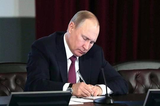 Президент РФ предложил вверить Росгвардии защиту губернаторов
