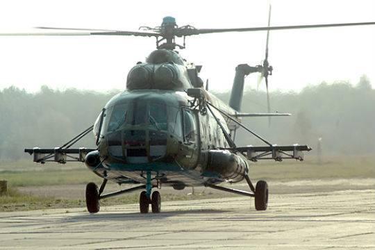 ВПодмосковье разбился Ми-8 стремя членами экипажа наборту