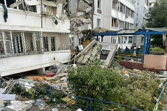 При взрыве газа в Подмосковье обрушились конструкции трёх этажей