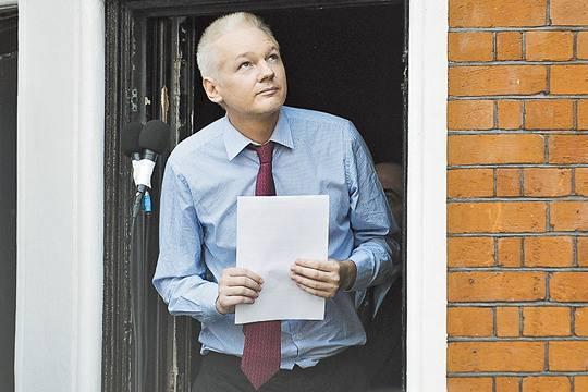 Милиция Лондона арестует Ассанжа, ежели тот покинет посольство Эквадора