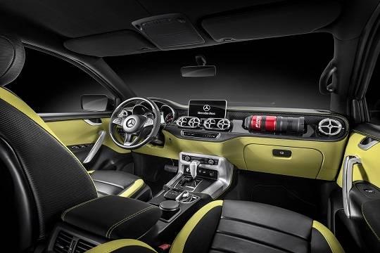 Прототип пикапа Mercedes-Benz X-Class станет товарной версией