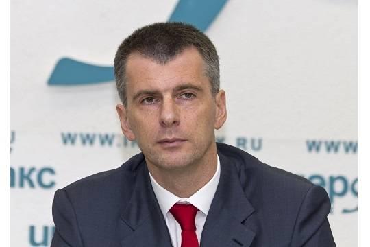 Прохоров ответил угрожавшему судом адвокату Родченкова
