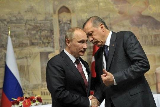 Владимир Путин посетит Турцию 31августа