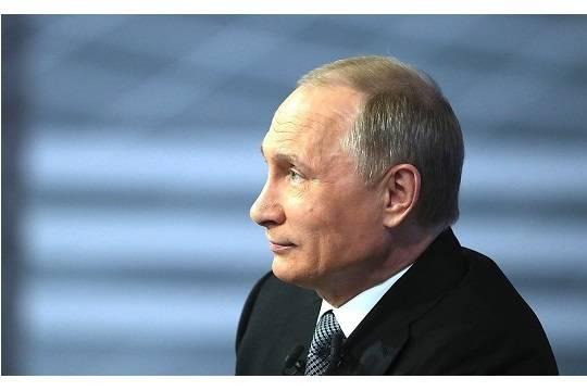 Путин обвинил США иЕвропу вконфликте России сУкраиной