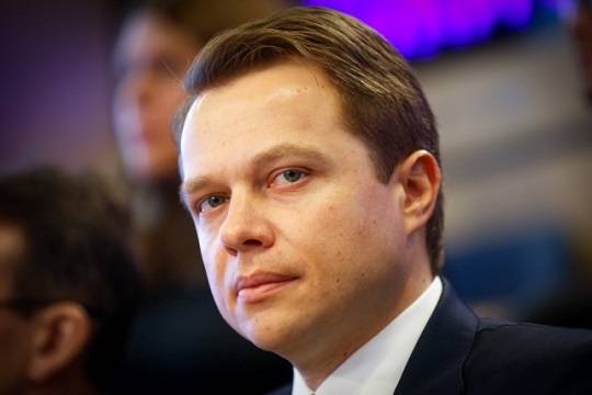 Владимир Путин наградил Максима Ликсутова Орденом Дружбы
