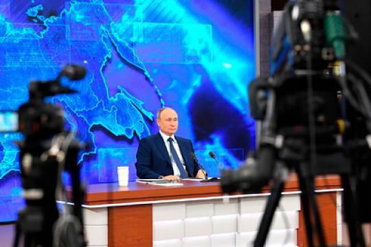 Путин прокомментировал возможность участия в президентских выборах 2024 года