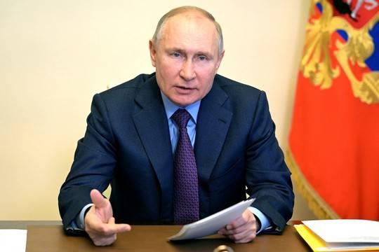 Путин рассказал об открытии границ с другими странами