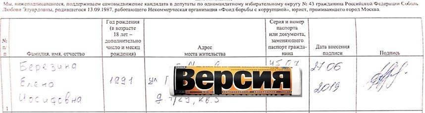 Раскрыты подробности расследования о фальсификации подписей за оппозиционных кандидатов на выборах в Мосгордуму