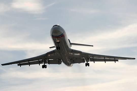 ТУ-154: «Командир, падаем!»