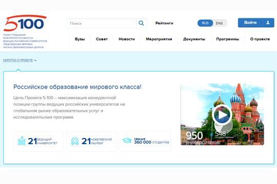 Русские вузы вошли вчисло наилучших университетов предметного рейтинга THE
