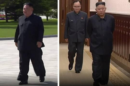 Резкое похудение Ким Чен Ына вызвало слухи о его болезни