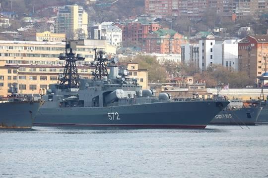 ВЯпонском море прошли российско-японские морские учения «Сарекс-2017»