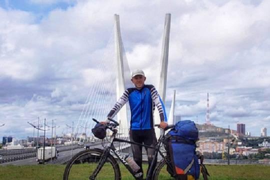 Завершен благотворительный велопробег изКалининграда воВладивосток
