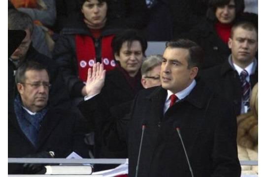 Саакашвили сказал оначале сбора средств наразвитие новейшей партии
