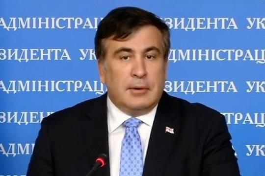 Саакашвили ответил на похвалу Зеленского в свой адрес