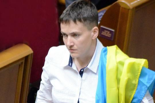 Савченко предложила отказаться отКрыма, чтобы вернуть Донбасс