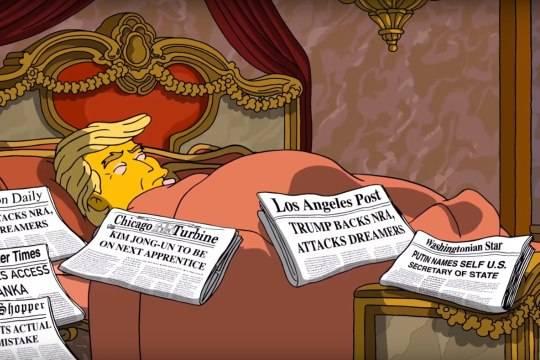 Вновом эпизоде «Симпсонов» Владимир Путин назначен госсекретарем США