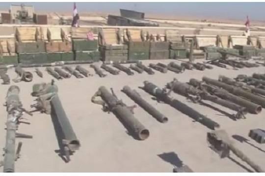 ВСирии показали захваченные уИГ советские танки иамериканские пушки