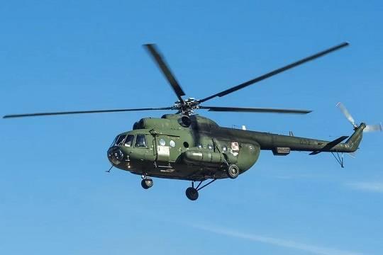 СК проводит расследование по факту крушения Ми-8 в Подмосковье