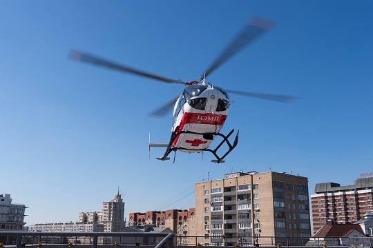 Служба санитарной авиации столицы отмечает 10-летие