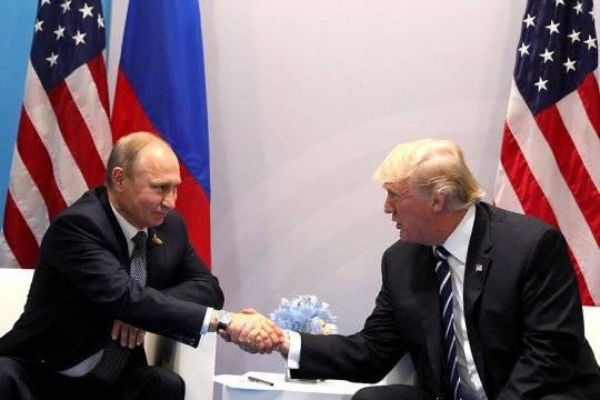 Путин иТрамп 40 мин. обсуждали «вмешательство РФ ввыборы», пишет NYT