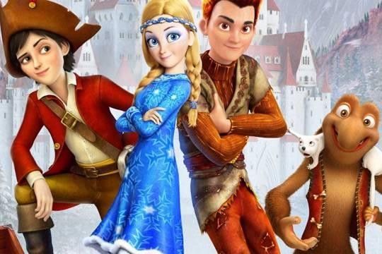 «Снежная королева 3. Огонь и лед» стал самым кассовым российским мультфильмом