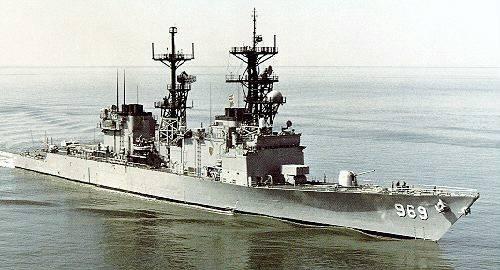 «Питерсон» USS DD-969
