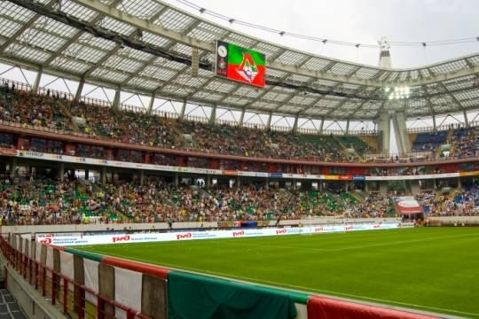 Московский стадион «Локомотив» 5августа переименуют в«РЖД Арену»